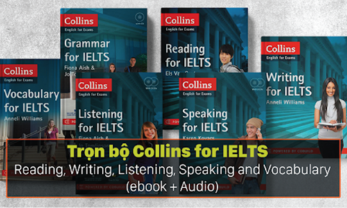 Download Trọn bộ Collins for IELTS - Reading, Writing, Listening, Speaking and Vocabulary miễn phí