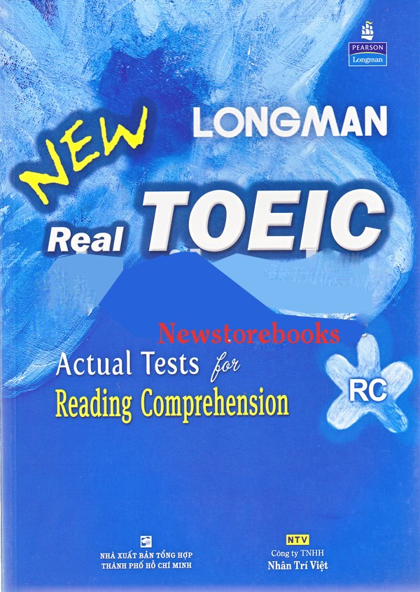 Longman New Real TOEIC – Actual tests for reading comprehension (RC)