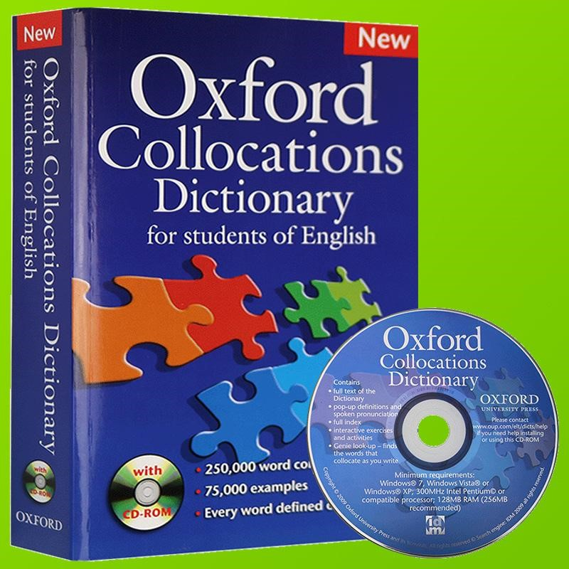 Sách Oxford Collocations Dictionary