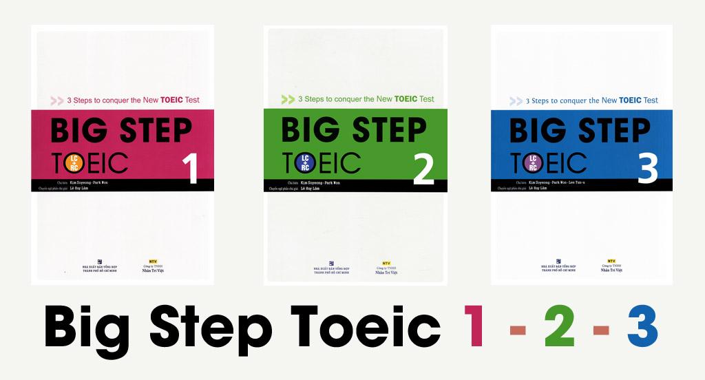 Tải Trọn bộ Big Step TOEIC 1, 2, 3 miễn phí [PDF+ AUDIO]