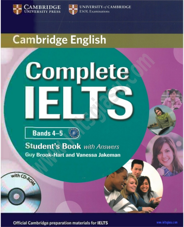Complete IELTS band 4.0 - 5.0