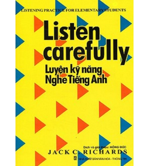 Ebook Listen Carefully (PDF + AUDIO)