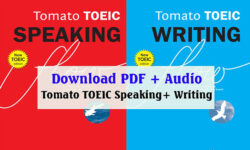 Tomato TOEIC Speaking + Writing PDF Download sách miễn phí