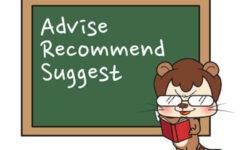 Cấu trúc - cách dùng Recommend, Advise trong tiếng Anh