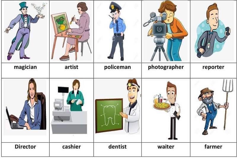 Hỏi và giải đáp về nghề nghiệp bằng tiếng Anh