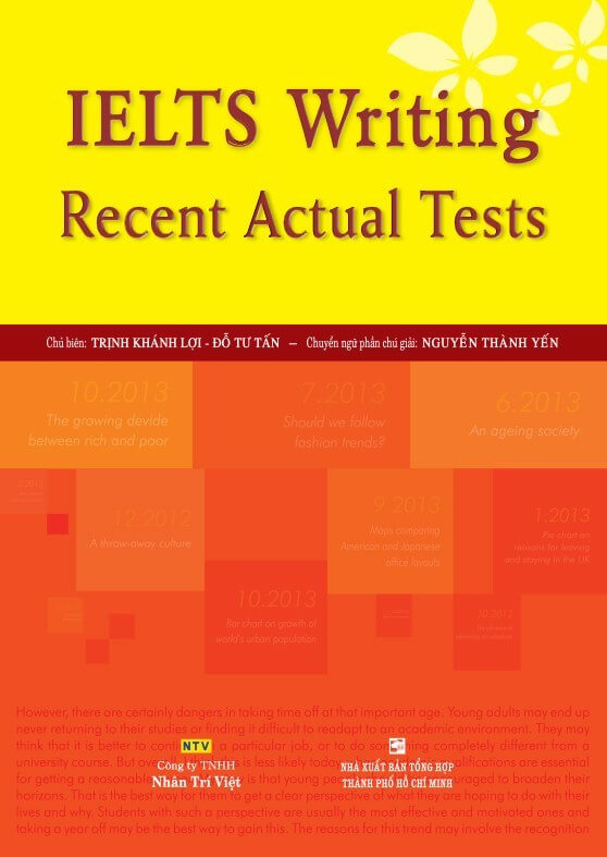 IELTS Recent Actual Tests Writing
