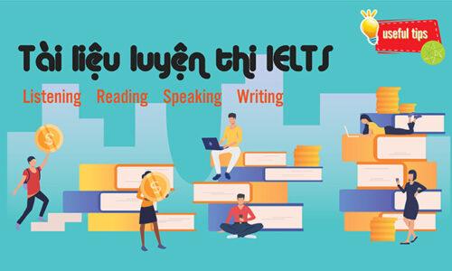 Tổng hợp Tài liệu luyện thi IELTS phù hợp cho Level 6.0 - 6.5