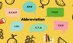 Hướng dẫn cách đọc các từ viết tắt trong tiếng Anh