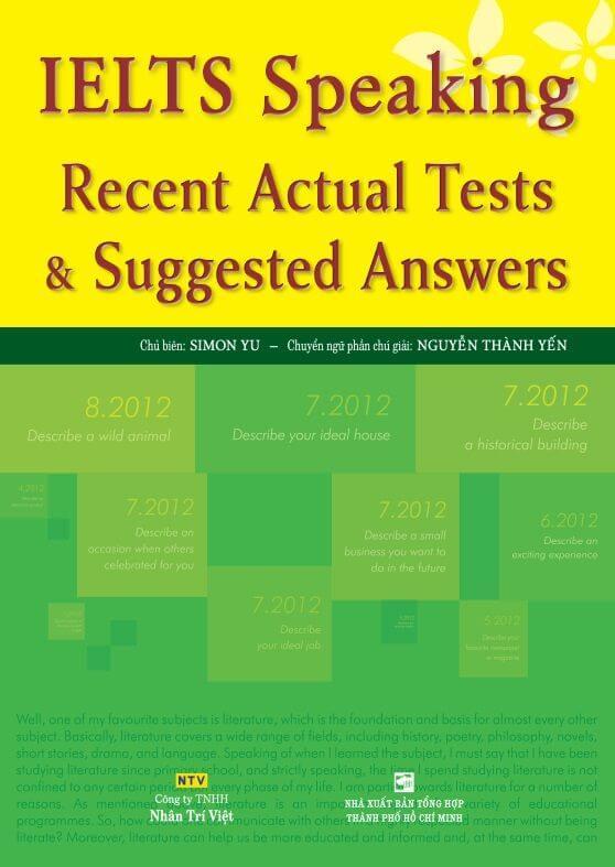 IELTS Recent Actual Tests Speaking