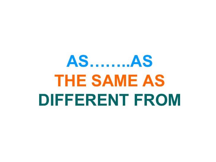 Cấu trúc so sánh bằng trong tiếng Anh với tính từ và trạng từ