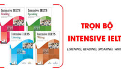 Tải sách Trọn bộ Intensive IELTS Listening, Reading, Speaking, Writing miễn phí