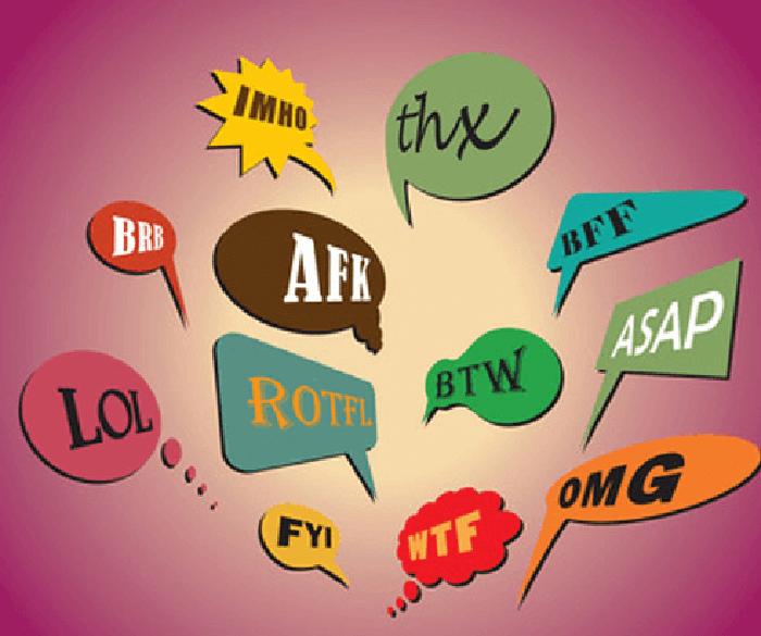Tổng hợp các từ viết tắt thông dụng trong tiếng Anh