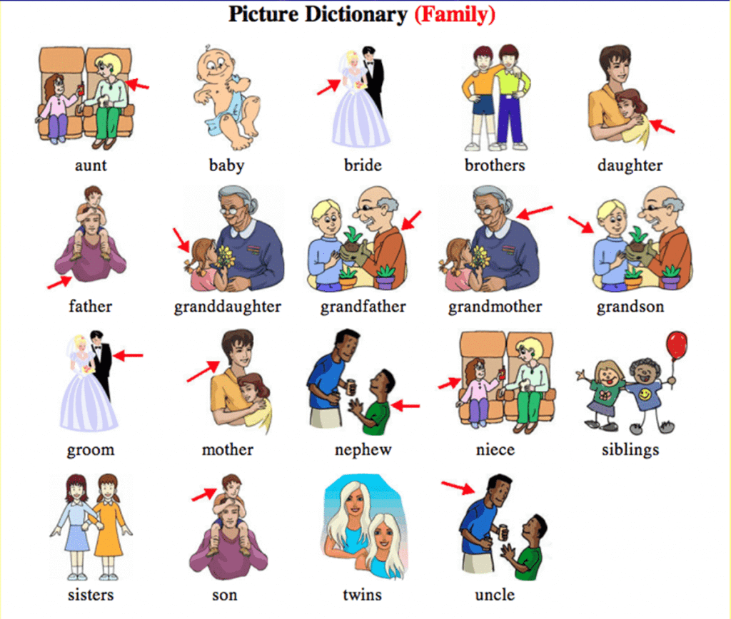 Từ vựng tiếng Anh chủ đề Gia đình