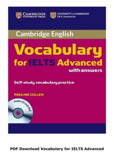 VOCABULARY FOR IELTS ADVANCED - Review + Download Free