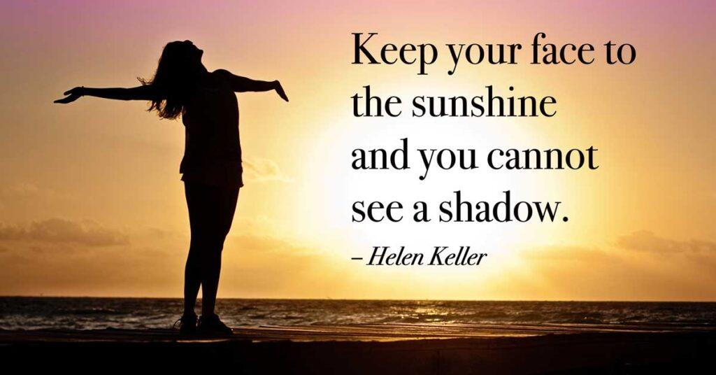 Câu nói của Helen Keller