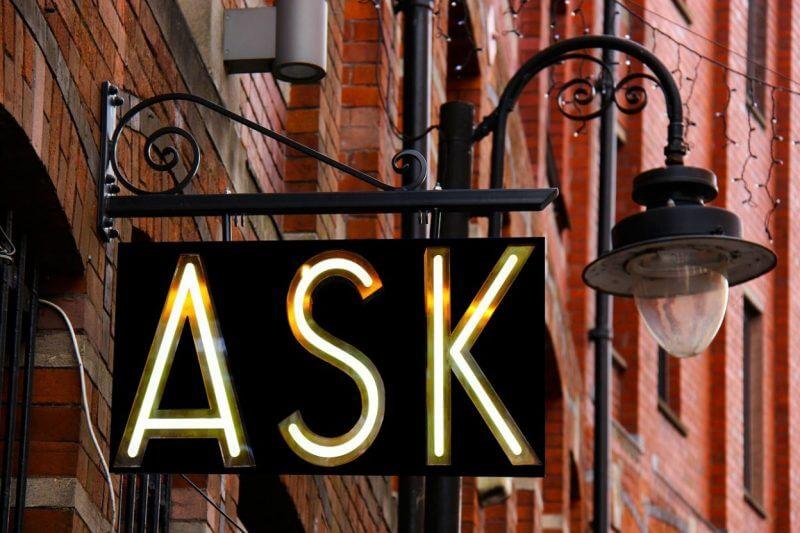 Định nghĩa và sự khác biệt của Ask