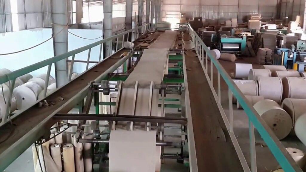 Hình ảnh về sản xuất bao bì