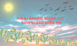 570 Academic word list - Download miễn phí