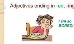 """Sự khác biệt giữa tính từ đuôi """"-ed"""" và đuôi """"-ing"""" – Bài tập có đáp án chi tiết"""
