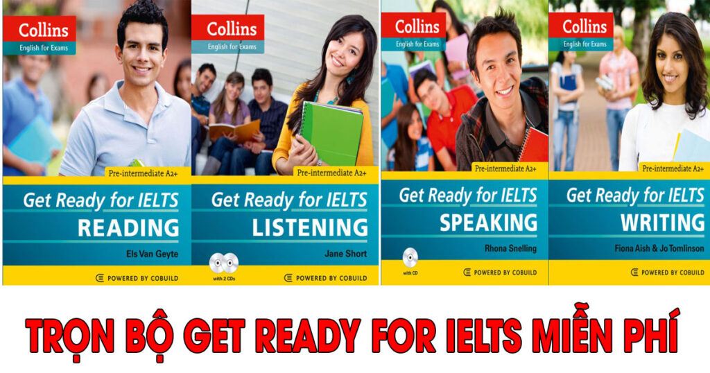 Download Get Ready for IELTS 4 skills miễn phí