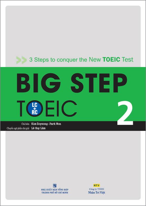 Big Step TOEIC 2: Trung cấp (TOEIC 500 – 750)