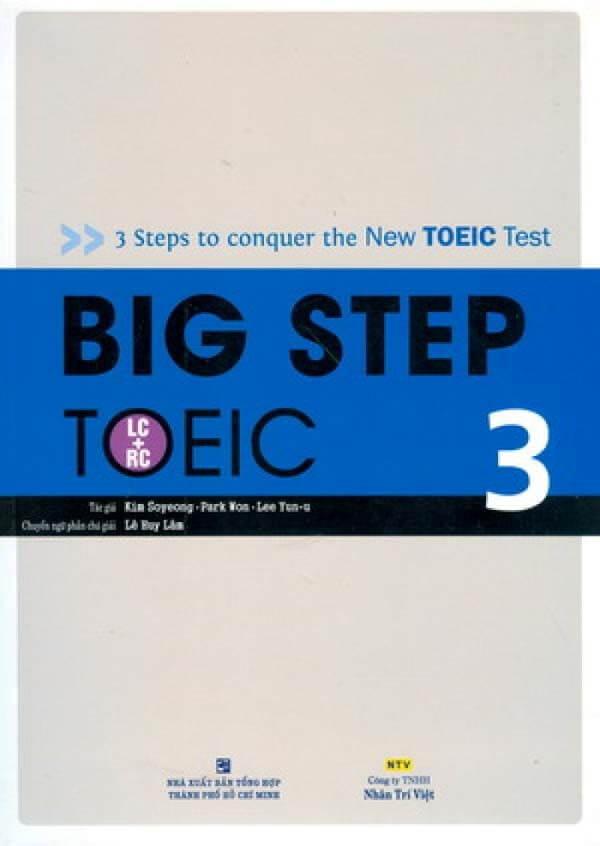 Big Step TOEIC 3: Nâng cao (TOEIC 700 – 900+)