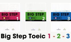 Tải trọn bộ Big Step TOEIC 1, 2, 3 bản đẹp (full PDF + AUDIO)