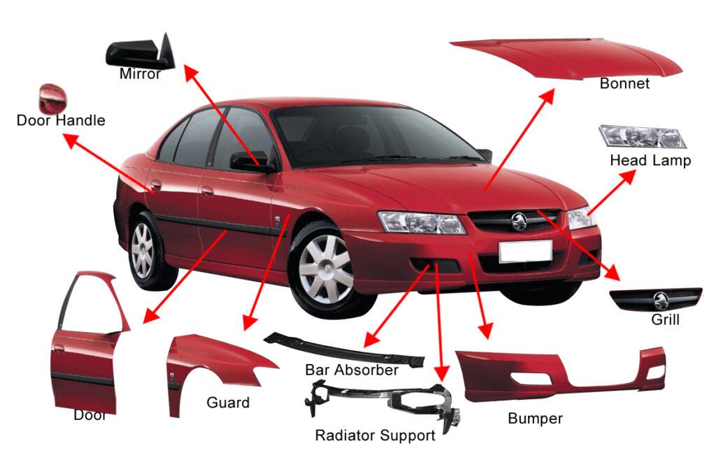 Cấu tạo căn bản của ô tô
