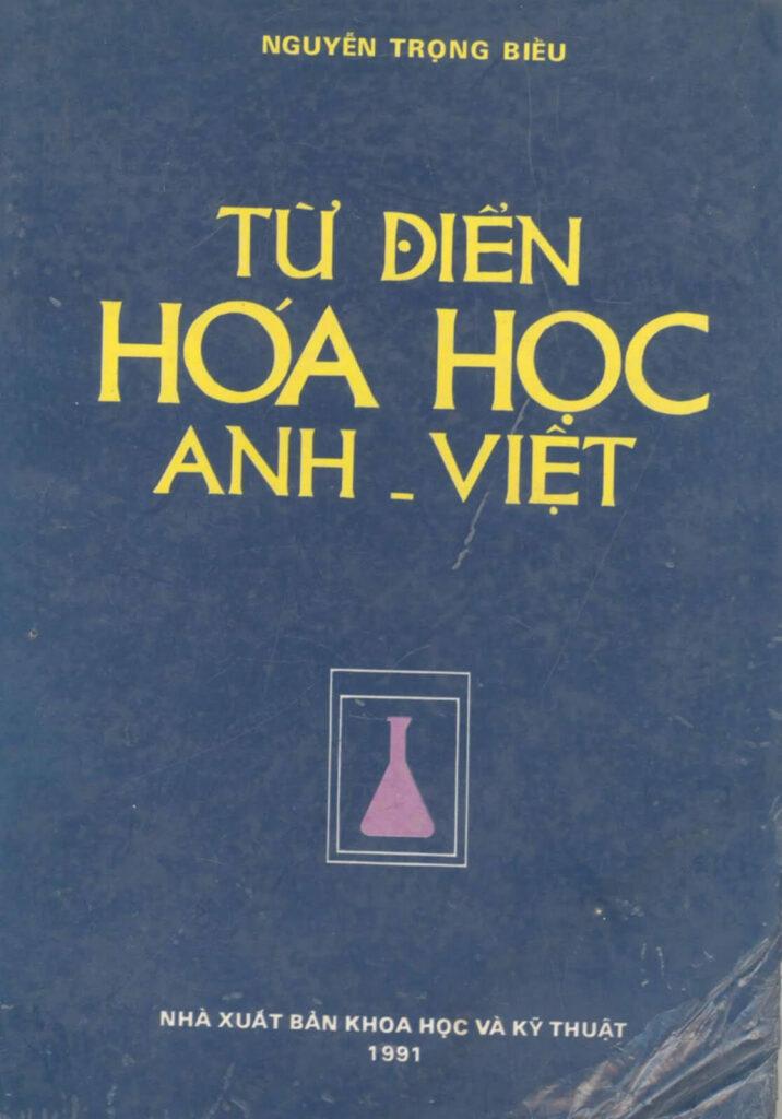 Download Từ điển chuyên ngành Hóa học Anh - Việt pdf