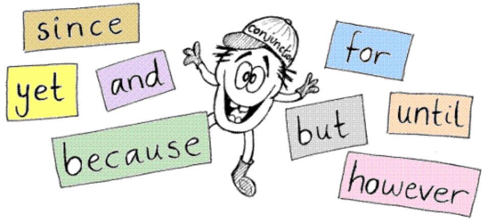 Cách dùng liên từ trong tiếng Anh