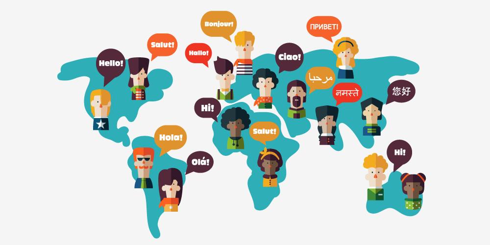 Ngôn ngữ các quốc gia trong tiếng Anh