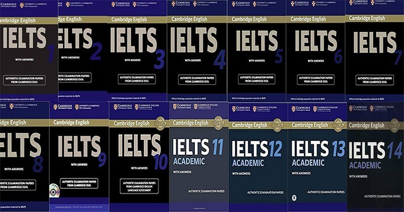 IELTS Cambridge (quyển 1 – 14)