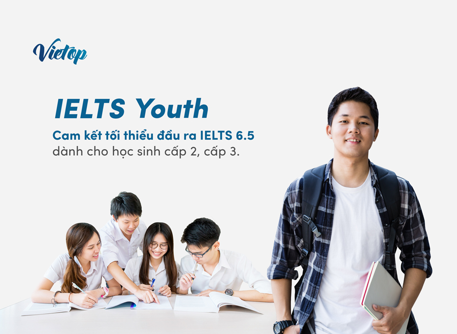 Khóa học IELTS cho học sinh cấp 2, cấp 3