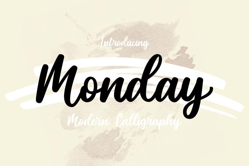 Monday - Thứ Hai