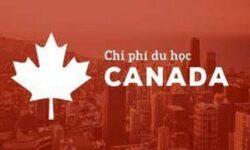 chi phí du học canada